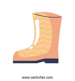 gardening boot tool accesory icon
