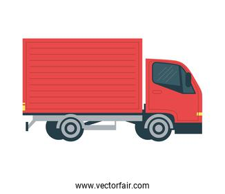 truck delivery service vehicle icon