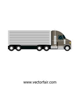 container truck cargo city transport
