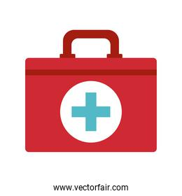 first aid on a white background