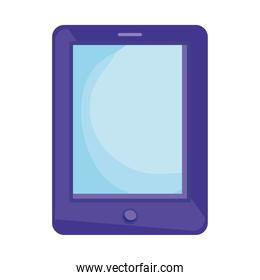 purple tablet electronic device
