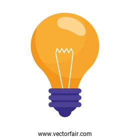 bulb light idea think icon