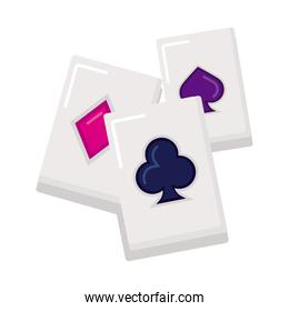 poker aces cards casino game icon