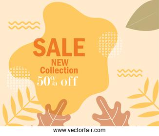 sale new collection offer promote message template
