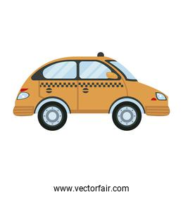 taxi car vehicle city transport icon