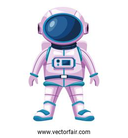 astronaut standing with suit character