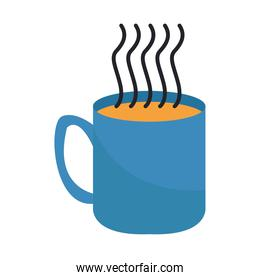 coffee mug drink hot isolated icon