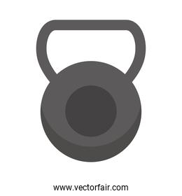 dumbbell sport accessory isolated icon