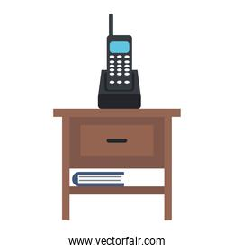drawer with wireless phone office forniture