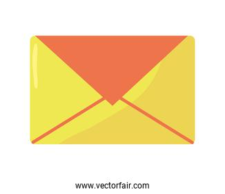 envelope mail send isolated icon