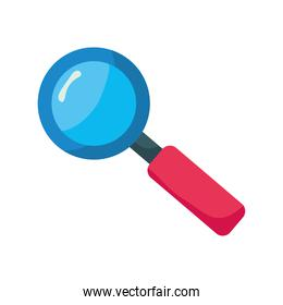 search magnifying glass zoom icon