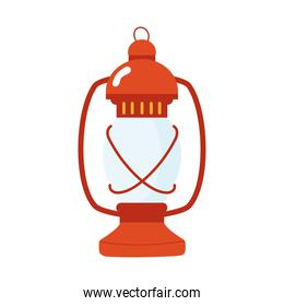 lamp kerozene tool isolated icon
