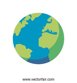 world sphere icon vector design