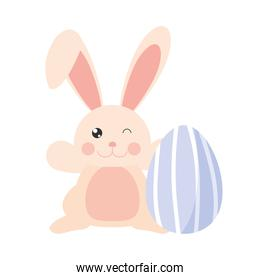 easter rabbit egg