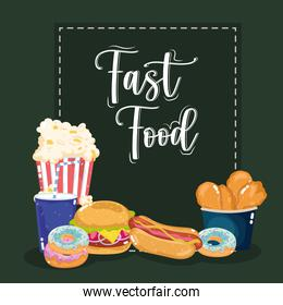 fast food lettering