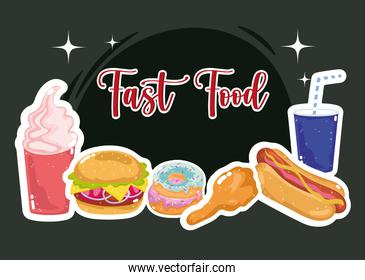 fast food delicious