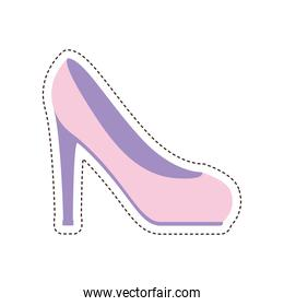 80s patch of a heel