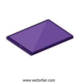 tablet electronic device isometric icon
