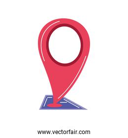gps map pointer