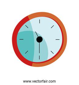 time clock device isolated icon