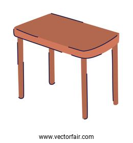 wood table icon