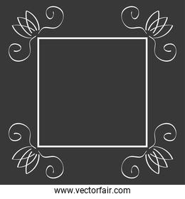 classic frame floral