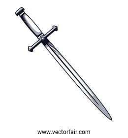 sword weapon drawn style icon