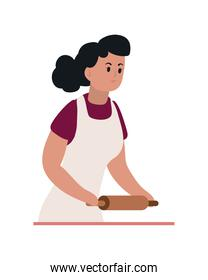 pastry woman cooking
