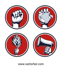 four hands revolution
