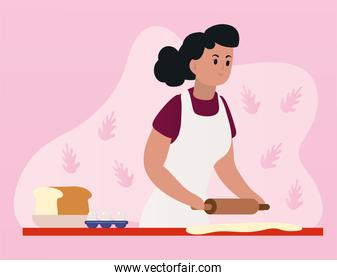 pastry girl cooking