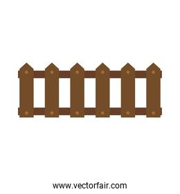 icon wooden fence