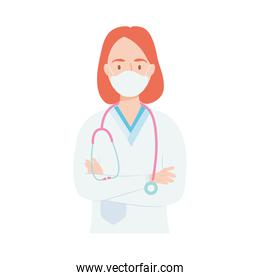 young doctor woman