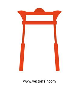 asian red gate