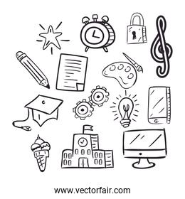 Doodle icons pack