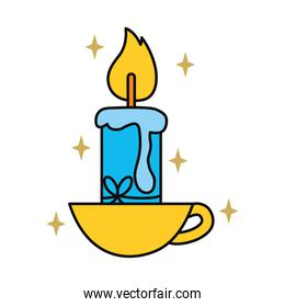 cup with candle