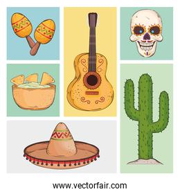 mexican party icons