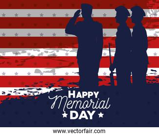 memorial day officers