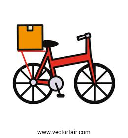 delivery bike icon