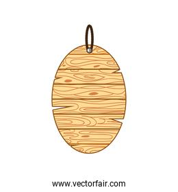 hanging oval board