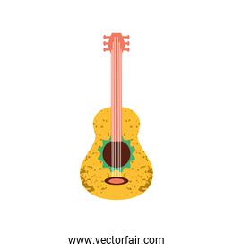 yellow and green guitar musical instrument