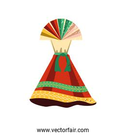 mexican female dress