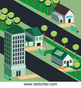 ecological system houses