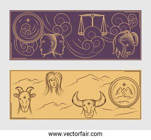 astrological horoscope signs
