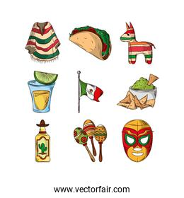 mexican party set