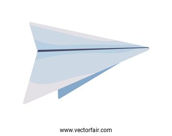paper airplane flyign