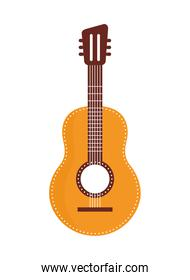 acustic guitar isolated