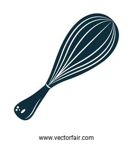 isolated kitchen whisk icon
