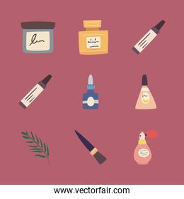 Makeup icon collection