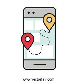 smartphone tracking delivery