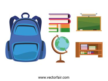 classroom forniture icons